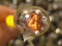 6x IN-2 nixie tubes sub-miniature neon indicators for DIY clock NOS