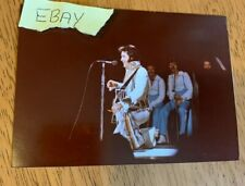 RARE VINTAGE ELVIS  PHOTO ORIGINAL GEORGE HILL STAMPED 1975 ESTATE LOT 16