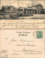 Ansichtskarte Wyk (Föhr) 2 Bild: Logierhaus - Gasthaus 1908