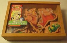 Melissa & Doug-20 Wooden Magnetic Animals in a Box-#462
