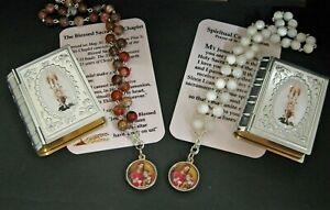 Blessed Sacrament Spiritual Communion Chaplet set Choice of Beads .