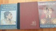Kenneth Clark Civilisation Romantic Rebellion The Nude Book Lot!
