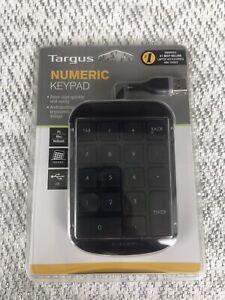 Targus AKP10US Wired USB Numeric Keypad - 3 Ft Cord