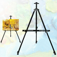 Tripod Adjustable Easel Display Stand Drawing Board Art Artist Sketch Painting