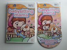 Babysitting Mama - Nintendo  Wii Game CIB COMPLETE - FAST N FREE SHIPPING !!