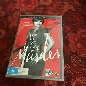 HOW TO GET AWAY WITH MURDER DVD.