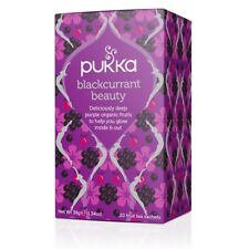 Pukka Organic Herbal 20 Tea Sachets Teabags - Blackcurrant Beauty