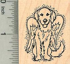 Dog Angel Rubber Stamp, Labrador Retriever, Pet Loss G32611 WM