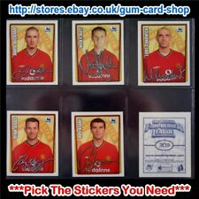 Merlin Premier League 2001-2002 (300 to 399) *Select the Stickers You Need*