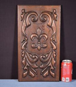 *Vintage French Carved Architectural Panels/Trim in Solid Oak Wood