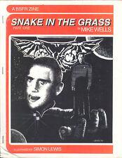 Star Trek the Next Generation Fanzine SNAKE IN THE GRASS