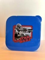 Clearance- STAR WARS Stormtrooper Snack/Sandwich Lunch Container New