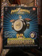 Power Rangers Zeo Deluxe Transforming Spring Action Warrior Wheel