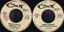 DISCO 45 GIRI   Adriano Celentano - A Woman In Love / Rock Around The Clock  JB