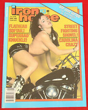 Iron Horse Magazine by EasyRiders #83 June 1989  NEW Condition