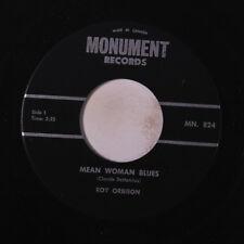ROY ORBISON: Mean Woman Blues / Blue Bayou 45 (Canada) Oldies