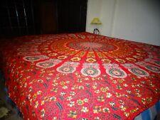 Rajasthani/Jaipuri hand block printed Traditional coton Bedsheet without Pillow