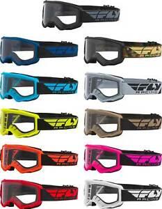 Fly Racing Focus Goggle - MX Motocross Dirt Bike Off-Road ATV UTV MTB Adult