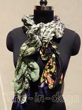 Foulard Crinckle 100% Coton Patchwork 20x145cm 50g Hippie Chic Inde 6x2