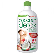 NATUROPATHICA FATBLASTER COCONUT DETOX 750ML 2 DAY PLAN WEIGHT LOSS TROPICAL