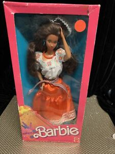 NIB BARBIE DOLL Mexican 1917 DOLLS OF THE WORLD  Barbie DOTW Collection