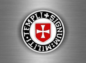 autocollant sticker ordre malte templier knights croisades templar crusader Z