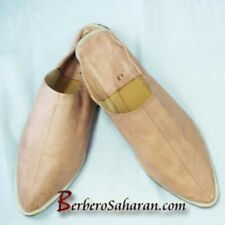 Handmade Algerian leather Babouche - For Men