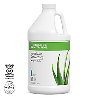 NEW HERBALIFE Herbal Aloe Ready-to-Drink Gallon FREE SIPPING