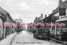 BU 365 - Queens Head Inn, High Street, Wing, Buckinghamshire - 6x4 Photo