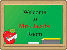 Personalized Teacher Classroom Sticker Color Wall Sticker Reusable 16x12