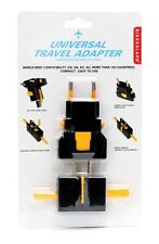 Kikkerland Universal Travel Adapter Worldwide Converter UL03-A US UK EU AU
