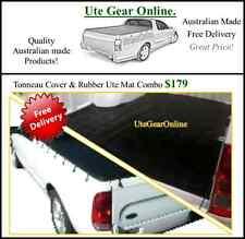 Ford Falcon Ute AU BA BF Ute Tonneau Cover & Rubber Ute Mat Combo