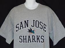 NEW San Jose Sharks NHL Hockey Short Sleeve Majestic T-Shirt Mens Big Tall Size