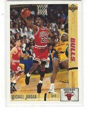 1994-95 UPPER DECK BASKETBALL HE'S BACK REPRINTS MICHAEL JORDAN #44 - 1991-92