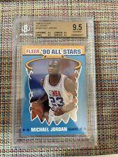 1990-91 Fleer #5 Michael Jordan BGS 9.5 - 4 X 9.5. Easy PSA 10 Regrade. Rare!!!