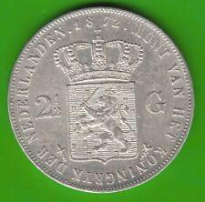 Niederlande 2 1/2 Gulden 1872 knappes vz nswleipzig