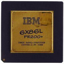 Vintage CPU IBM 6x86L 200+ goldcap [6919]