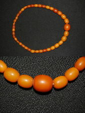 Amber Necklace REAL honig-bernstein, Length 38cm, 16,6g Very Good Condition
