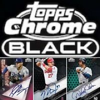 2020 Topps Chrome Black Pre Sell Hobby Box PRODUCT DEBUT LIVE!!