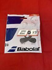Babolat RPM Blast 17 + VS 16 Tennis String Hybrid New Black 122278