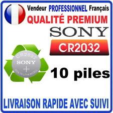50 Pack Véritable Sony Cr2032 Lithium 3 Volt Pile pour Gaming Télécommandes