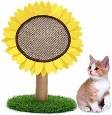Legendog Cat Scratching Post, Lovely Sunflower Shape Cat Scratcher Toy Cat