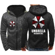 Resident Evil Umbrella Corporation Hoodie Sports Jacket Unisex Coat Sweatshirt