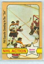 Phil Esposito 1972-73 O-Pee-Chee OPC 72 Hockey Card #76 EX NHL Boston Centre e