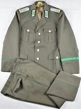 DDR NVA GT Uniform Oberleutnant Grenztruppen m48 SELTEN!! 2865