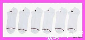 Tommy Hilfiger  6 pair Socks Sock Women Athletic Low Cut Sport  Ankle logo NWT