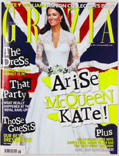 Catherine/Kate Middleton Pippa.Alexander McQueen Royal Wedding - Grazia magazine
