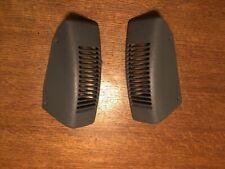 Jeep TJ Wrangler OEM Speaker Grill Cover Pair Gray 97-06  dash trim
