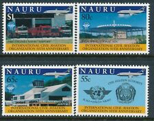 1994 NAURU INTERNATIONAL CIVIL AVIATION ORGANISATION SET OF 4 FINE MINT MNH