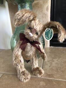 "Bearington Collection WILLIE #4095 2002 Plush Bunny Rabbit 10""🐰Hard To Find NWT"